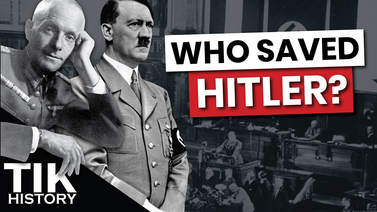 Who saved Hitler? The Munich Crisis & The Oster Conspiracy 1938