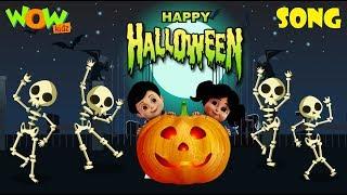 Vir: The Robot Boy | Happy Halloween | Halloween song for Kids | Wow Kidz