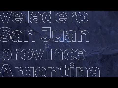 Veladero, San Juan Province, Argentina — Now you can see how we work, in real time