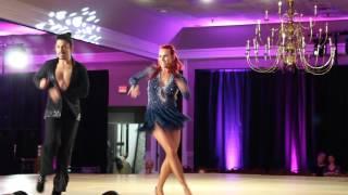 Atrevidos Heather Sommer and Luis Arduz bachata performance
