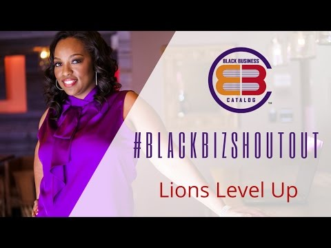 Black Business Holiday Catalog #BlackBizShoutout - Lions Level Up