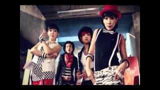 2NE1 - Crush Cover ( Korean & Female )