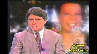 Jornal Nacional - A morte de Elizeth Cardoso (Globo/1990)