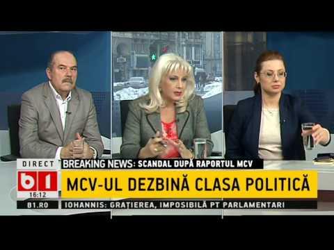 TALK B1 CU IRINA PETRARU: MCV-UL DEZBINA CLASA POLITICA