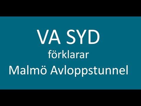 Varför en avloppstunnel i Malmö