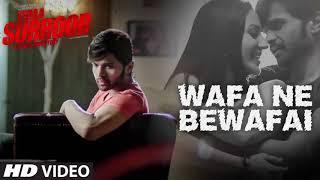 Wafa Ny Bewafai KI Ha  Arijith  lates Song 2018 Lyrics   Sad Songs Full Lyrics width=