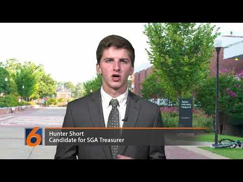 SGA Treasurer Candidate: Hunter Short