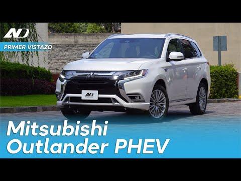 La camioneta híbrida-enchufable que si te alcanza: Mitsubishi Outlander PHEV - Primer Vistazo
