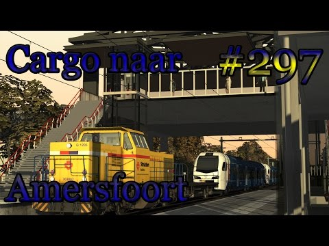 Cargo (Arriva Flirt) naar Amersfoort - Train Simulator #297