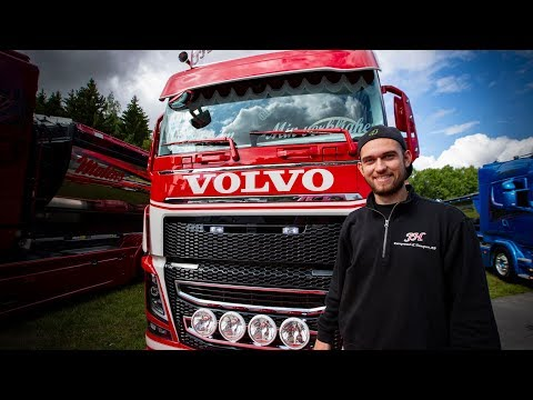 """Volvo Trucks ? This Volvo FH16 is sure to score a home run! - """"Welcome to my cab - light"""""""