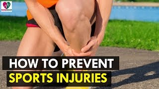 How to Prevent Sports Injuries - Health Sutra