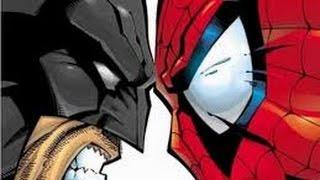 (DUELO DOS DEUSES) [RAP] HOMEM-ARANHA VS BATMAN