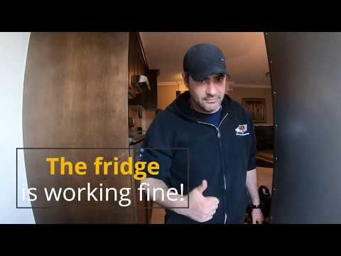 Bosch Refrigerator – Compressor not running. Inverter Control Board replacement.