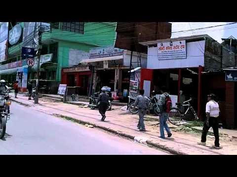Road Conditions in Kathmandu, Nepal (1)
