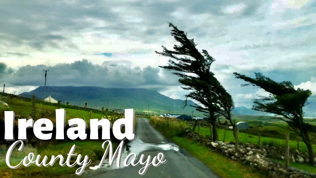Virtual Driving Tour – Irelands Countryside in 4K – Driving around County Mayo – July 29th 2021