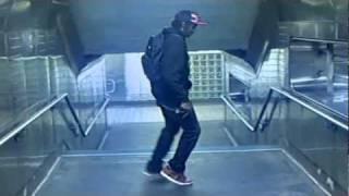 Michael Jackson -(stranger in moscow) Gliding dance