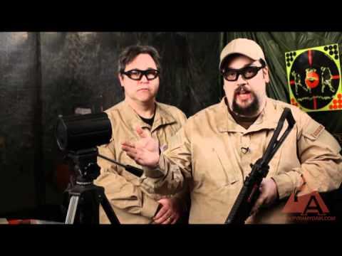 Video: GSG 522 RIS Blowback AEG Airsoft Rifle - RFR Episode 41   Pyramyd Air