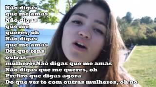 Diana Lima- Não digas que me amas- Letra