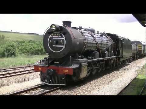 South Africa Steam train