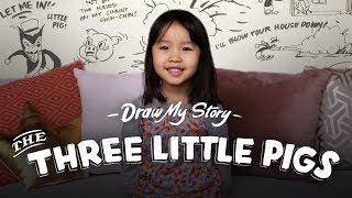 The Three Little Pigs (Suvi)   Draw My Story   HiHo Kids