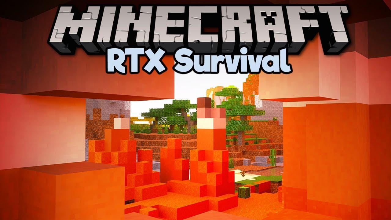 Pixlriffs - The Coolest Looking Biomes ▫ Minecraft RTX Survival S2 [Part 4]