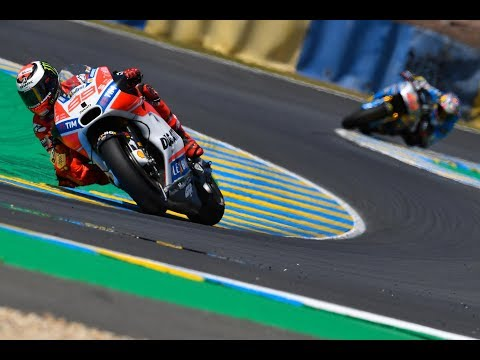2017 #FrenchGP - Ducati in action