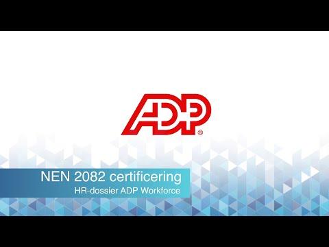 ADP Workforce HR dossier NEN2082