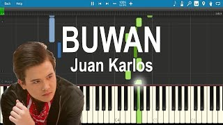 Buwan - Juan Karlos | Piano Tutorial (Synthesia)