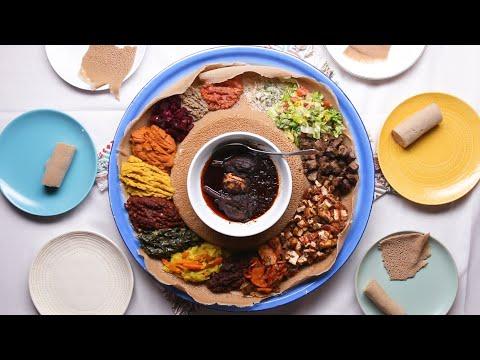 Siga Tibs And Ethiopian Salad With Genet ? Tasty