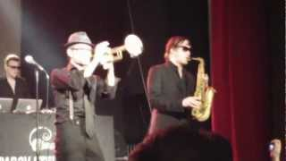 Parov Stelar Band - Booty Swing - live in Zurich @ Kaufleuten 3.3.2012
