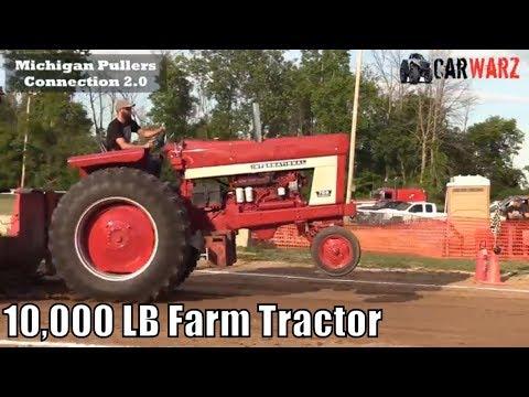 10,000 LB Farm Tractor Class At TTPA In Carsonville MI - Day 01 2018