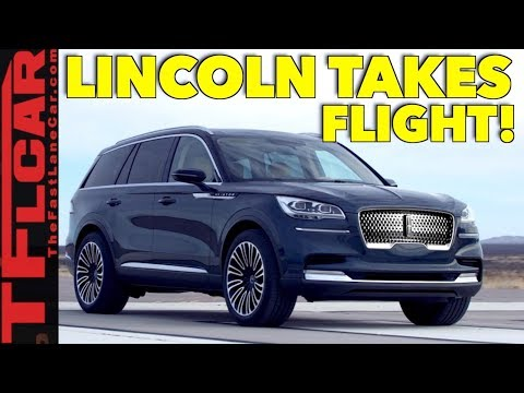 The Lincoln Aviator is Reborn with Turbo and Plug-in Hybrid Power