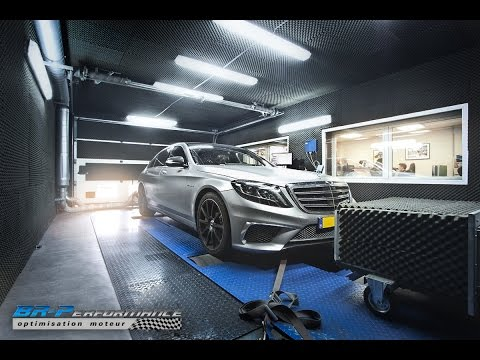 Mercedes S65 AMG V12 Bi-Turbo Stage 1 By BR-Performance