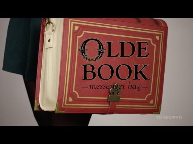 6780913598e4 Olde Book Messenger Bag