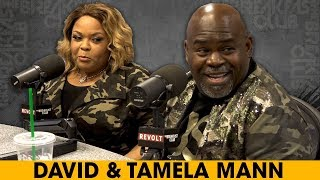 David and Tamela Mann Discuss Their Book 'Us Against The World' + More width=