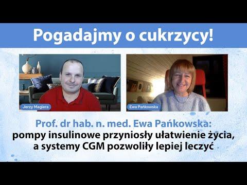Pogadajmy o cukrzycy - NA ŻYWO - gość specjalny prof. Ewa Pańkowska