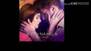 Jo to na mila- Asim azhar. (Lyrics Video)