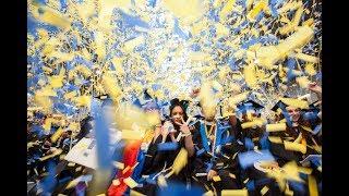 Times Square's Graduation Confetti