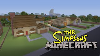 The Simpsons Intro | Built in Minecraft