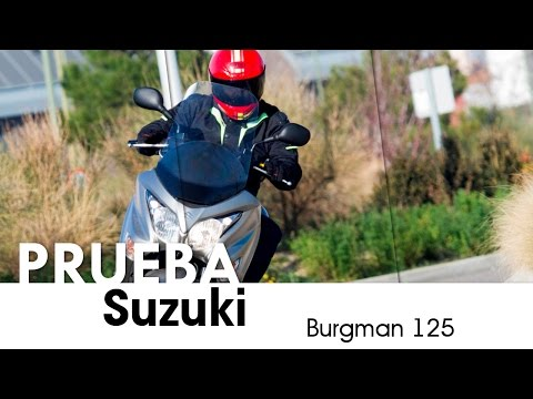 Videoprueba Suzuki Burgman 125 - castellano - 2015
