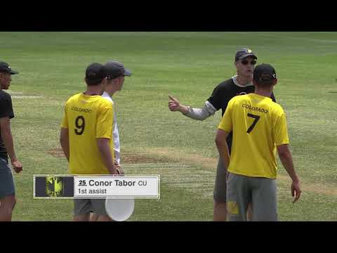 Video Thumbnail: 2019 College Championships, Men's Semifinal: Colorado vs. Brown