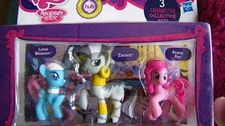 My Little Pony 3 Pack, Pinkie Pie, Zecora, Lotus Blossom Character Collection Review