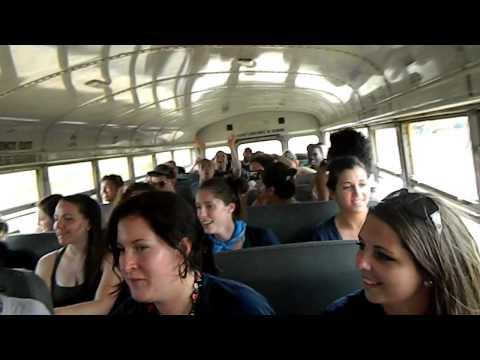 Singing on Bus In Nicaragua