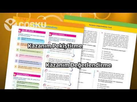 Coşku Yayınları 9 - 10 - 11 Sınıf Dil Anlatım Kitabı