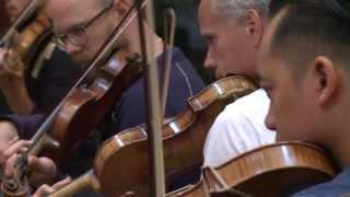Inspelning av musiken till dokumentärfilmen Talaren