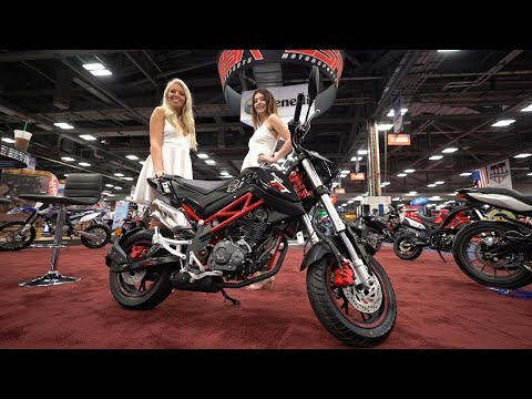 2018 Benelli TnT135 Preview - AIMExpo 2017 | 4K