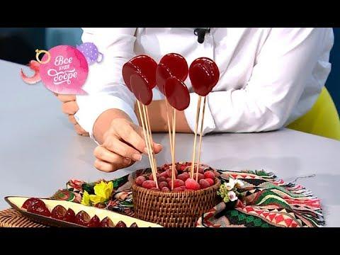 Леденцы из кизила: как приготовить диетический десерт