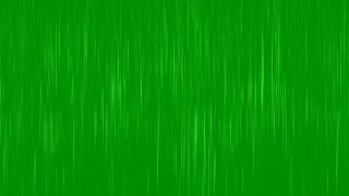 GREEN SCREEN REALISTIC RAIN EFFECT