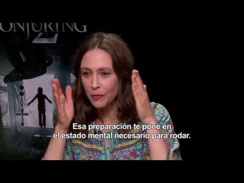 Expediente Warren: El Caso Enfield (The Conjuring) - Entrevista a Vera Farmiga y Patrick Wilson HD