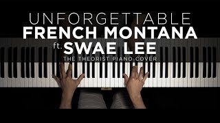 French Montana ft. Swae Lee - Unforgettable | The Theorist Piano Cover